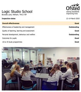 Find out more about our first Ofsted